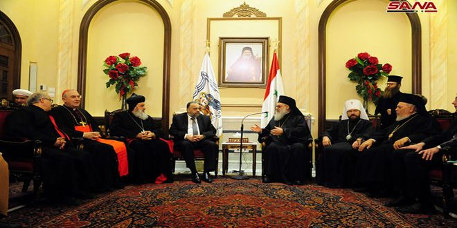 Al-Sayyed: Syria defeated terrorism thanks to its people's unity and coexistence