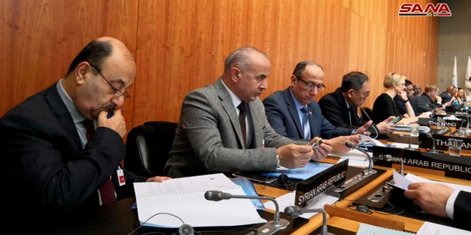 Syria takes part in Parliamentary Conference on the WTO