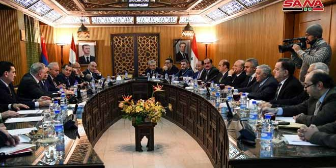 Damascus Chamber of Commerce calls on Armenian businessmen to benefit from investment opportunities in Syria