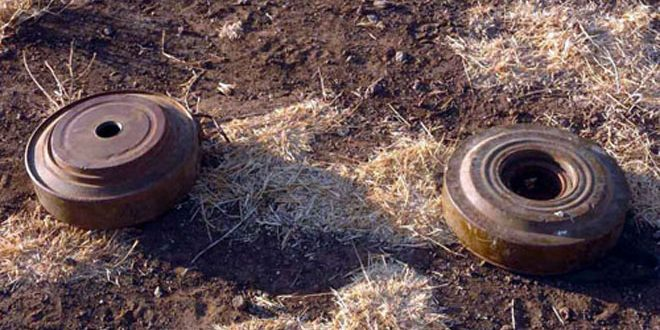 Two civilians martyred in landmine blast in Hama eastern countryside