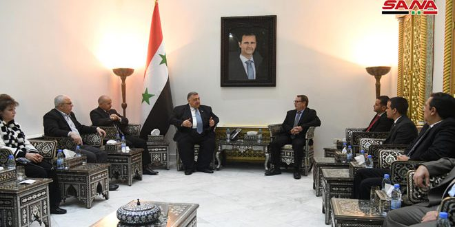 Syria and Cuba discuss bilateral relations