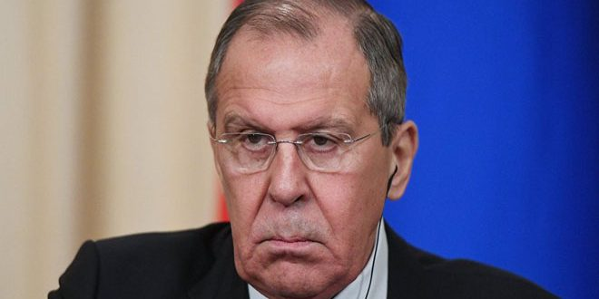 Lavrov: Return of all areas to Syrian State authority best way to stop increase of terrorism
