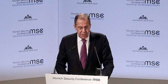 Lavrov: Patience is not endless regarding presence of terrorists in Idleb