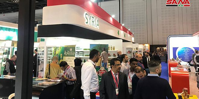 21 Syrian companies participate in Gulfood Exhibition in Dhabi
