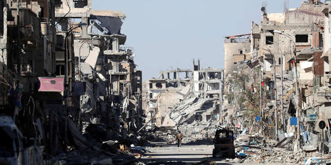 French officer : US-led int'l coalition killed Syrian civilians, destroyed their cities