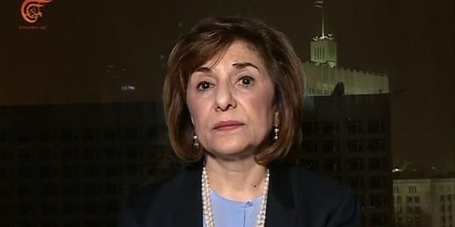 Shaaban: Syrian people will not allow interference in their affairs