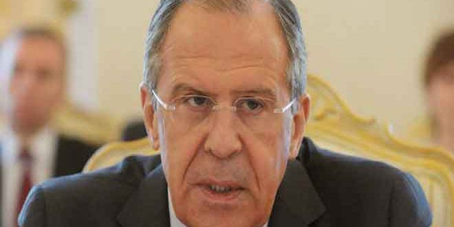 Lavrov underlines necessity of eliminating terrorism in Syria, finding a political solution to crisis