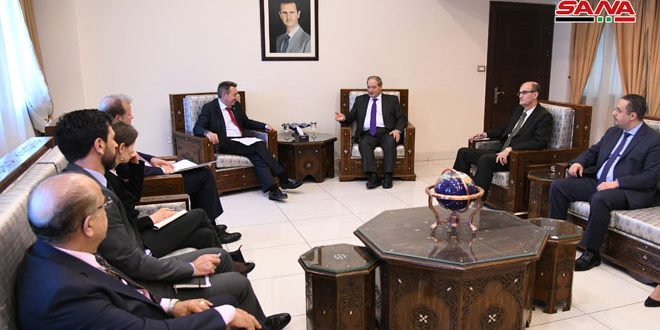 Mikdad: Syria is keen on boosting cooperation with ICRC