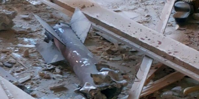 Fresh terrorist rocket attack in Hama countryside causes only material damage
