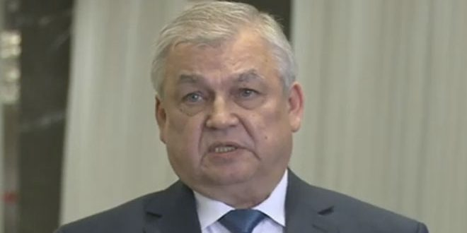 Lavrenteiv says there is a determination to continue fight against terrorism in Syria