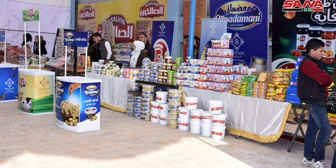 Second edition of Aleppo International Fair kicks off