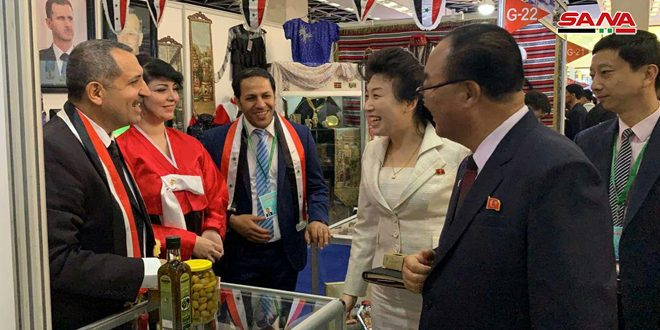 Syria participates in 22nd Pyongyang Spring International Trade Fair