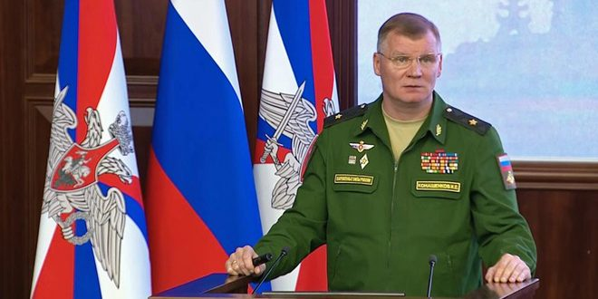 Russian MoD denies US claims of chemical attack in Idleb