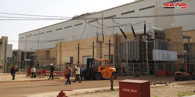 Al-Zara Power Generating Station resumes work after non-stop efforts since attack