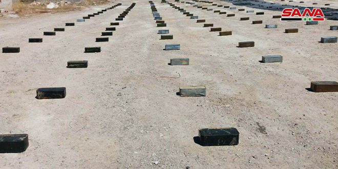 Weapons and ammo found in Damascus Countryside and Quneitra