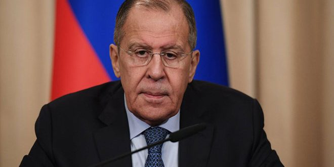 Lavrov: Washington supports terrorists in Syria, prolongs crisis in it
