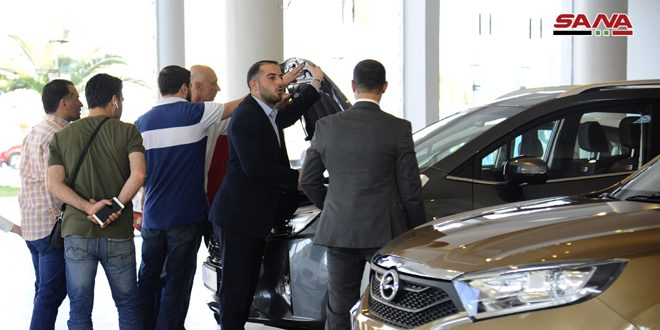 """Motor Show"" exhibition concludes activates in Damascus"