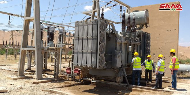Rehabilitation of Palmyra Power Convertor Station finished
