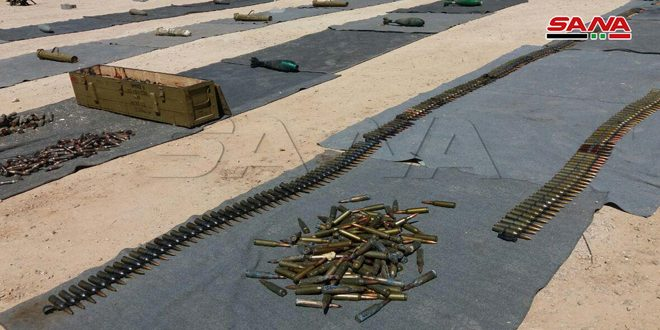 Weapons, ammo, Israeli-made vehicles left by terrorists found in Quneitra countryside