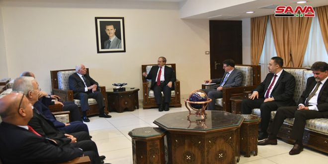Mikdad: Syria supports Palestinian people's struggle against Israeli occupation