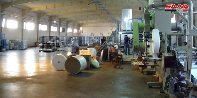 52 new industrial and craft facilities enter production stage in Daraa