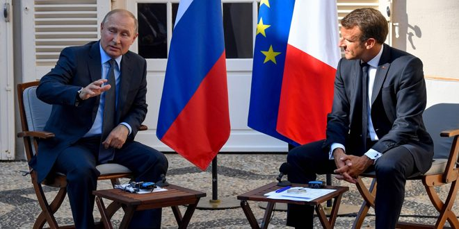 President Putin: Russia supports Syrian army in the fight against terrorism