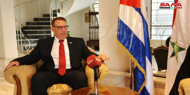 Cuba's Ambassador: Despite the US embargo, we will participate in Damascus International Fair