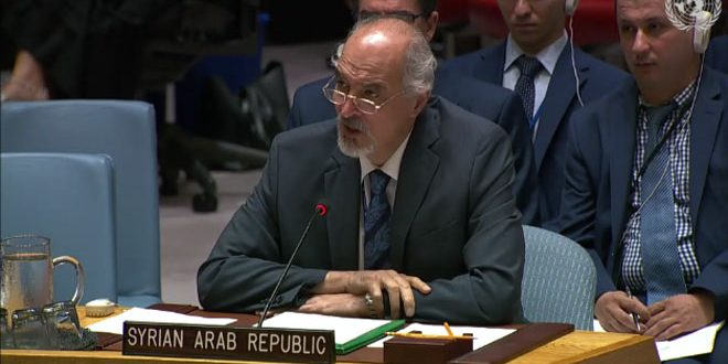Al-Jaafari affirms need for eliminating the US and Turkish occupations of Syrian territories