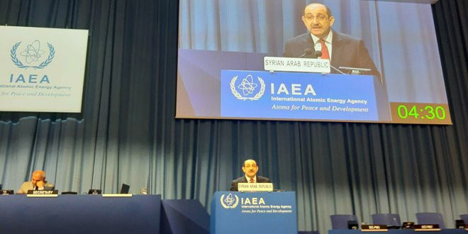 Al-Sabbagh: Syria cooperated with IAEA .. Israel's non-commitment to the treaty poses threat to international peace