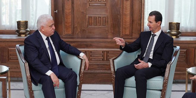 President al-Assad to al-Fayyad : Erdogan's regime aggression on our country is blatant invasion to which Syria will respond