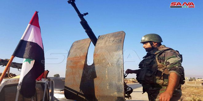 Syrian Army enters Tal Tamr in Hasaka countryside, towns in Raqqa countryside