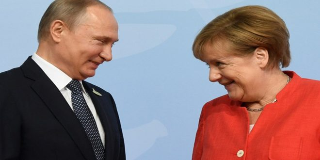 Putin, Merkel discuss situation in Syria in a phone call