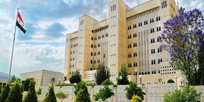 Syria condemns US position on Zionist settlements in occupied Palestinian territories