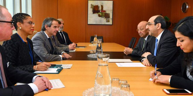 Syria committed to enhance implementation of legal instruments of IAEA's work