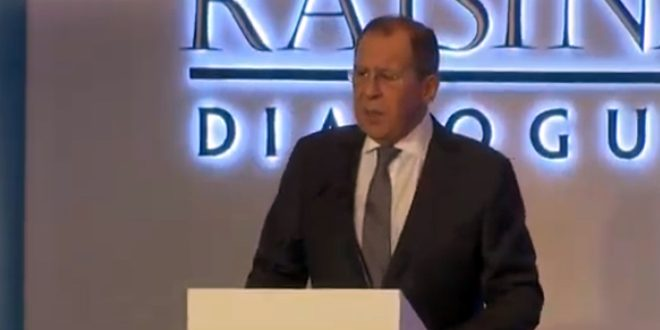 Lavrov: Combating terrorism in Syria, finding a political solution to crisis in it are among Russia's priorities