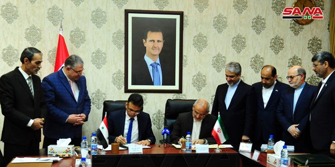 Syria, Iran sign MoU on enhancing cooperation in educational fields