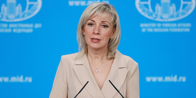 Zakharova: US occupation, terrorists obstruct evacuation of remaining residents at al-Rukban Camp