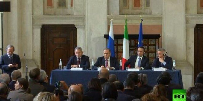 Lavrov: Necessity of eliminating the remaining terrorist focus in Syria