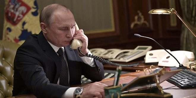 Putin affirms necessity of respecting Syria's sovereignty, territorial integrity