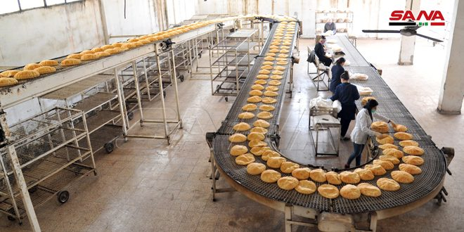 Cadres of Lattakia bakeries continue work in light of preventive measures to face Coronavirus