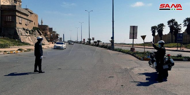 A curfew imposed on Tartous sea cornice from 02:00 p.m. till further notice