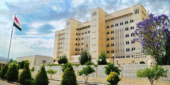 Foreign Ministry: OPCW report about using toxic materials in Ltamenah town in 2017 misleading, includes fabricated conclusions