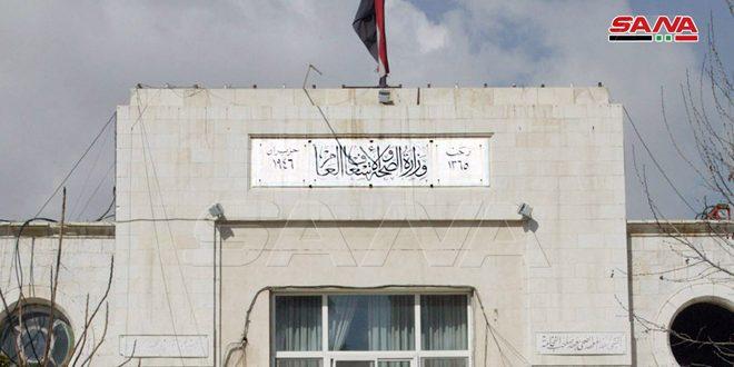 Health Ministry: Three new Coronavirus infections in Syria