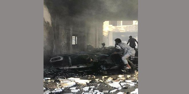 2 children martyred, 3 civilians injured in car bomb blast in Ras al-Ayn