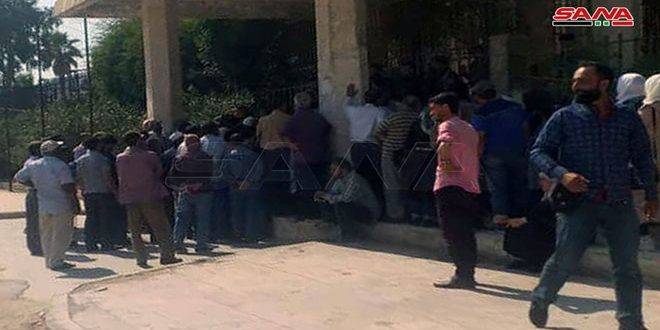 QSD groups continue to prevent workers of Electrical Company and Grain Corporation in Hasaka from offering services to citizens