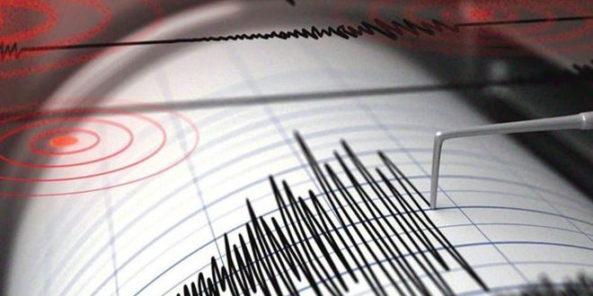 National earthquake Center:  a moderate earthquake takes place south of Hasaka
