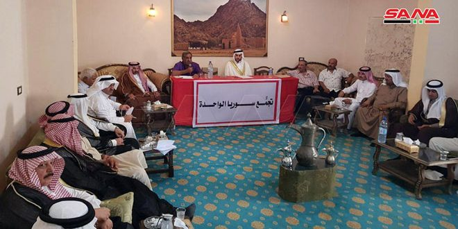 Syrian tribes stand by the Syrian Army and call for the resistance against the US, Turkish occupation