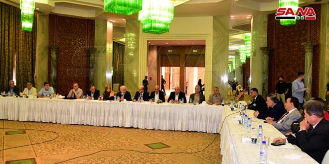 """International political Analysts call for enhancing cooperation among states of the region against so-called"""" Caesar Act """""""