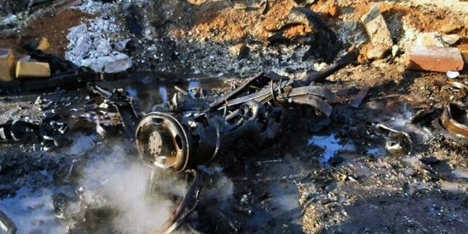 Four civilians injured in car bomb blast in Al-Bab in Aleppo countryside