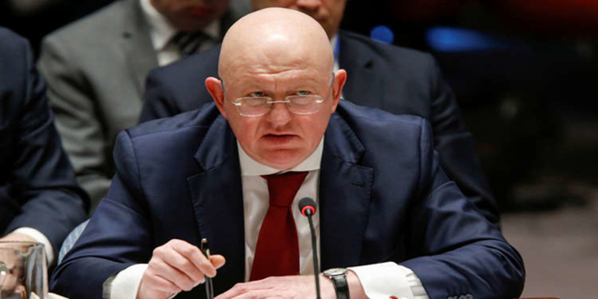 Nebenzia: Russia to introduce new draft resolution on aid delivery in Syria
